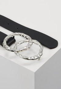 Even&Odd - Cinturón - black/silver - 2