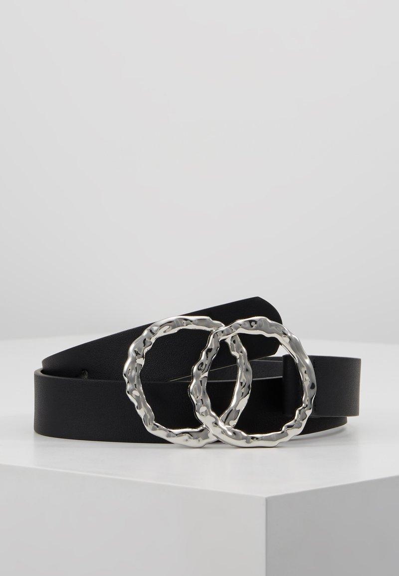 Even&Odd - Cinturón - black/silver