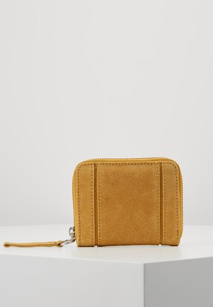 LEATHER - Lommebok - mustard