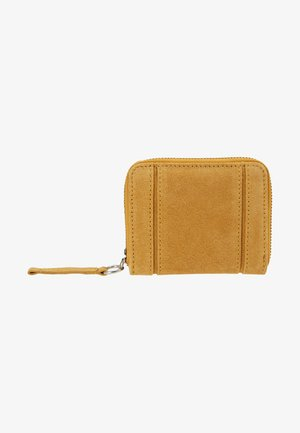 LEATHER - Wallet - mustard