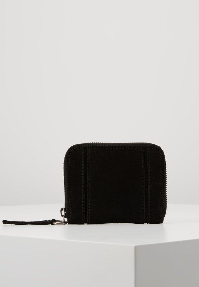 LEATHER - Plånbok - black