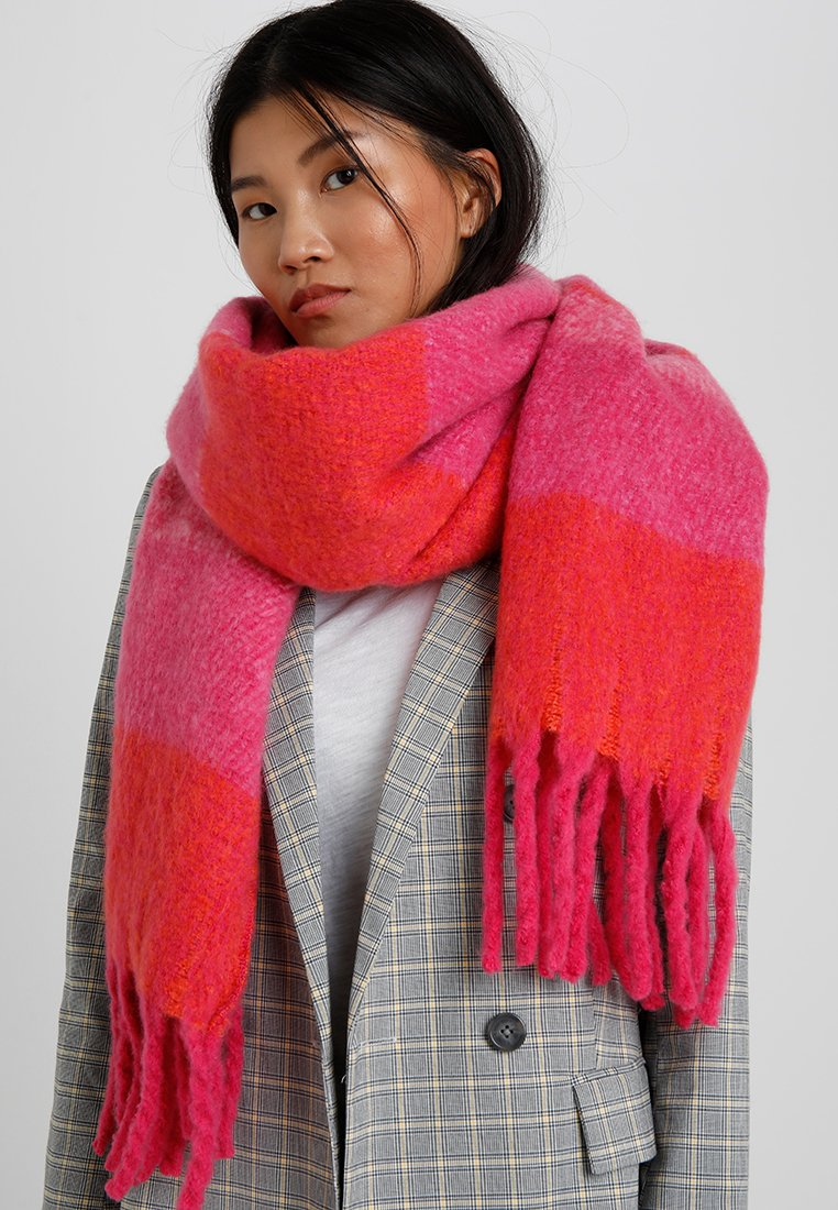 Even&Odd - Scarf - red/pink