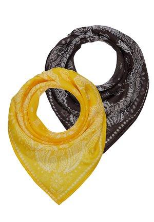 2 PACK - Chusta - grey/yellow