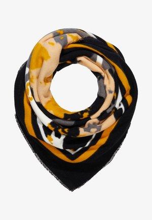 Šátek - mustard/black