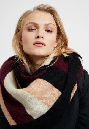Šátek - black/pink