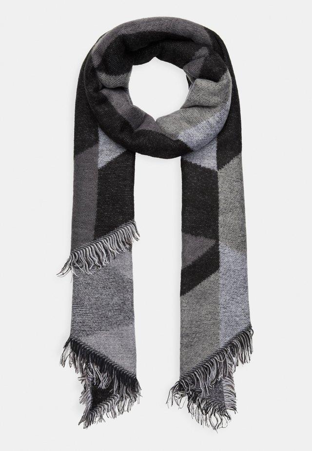 Schal - white/black