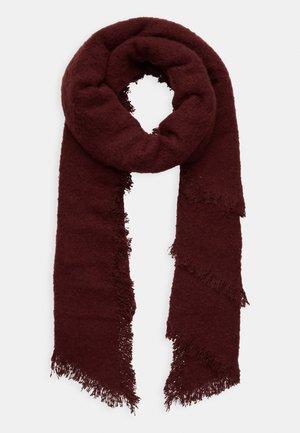 Sjal / Tørklæder - dark red