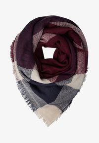 Even&Odd - Foulard - dark blue/bordeaux/nude