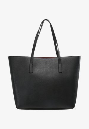 Shopping bags - black/red