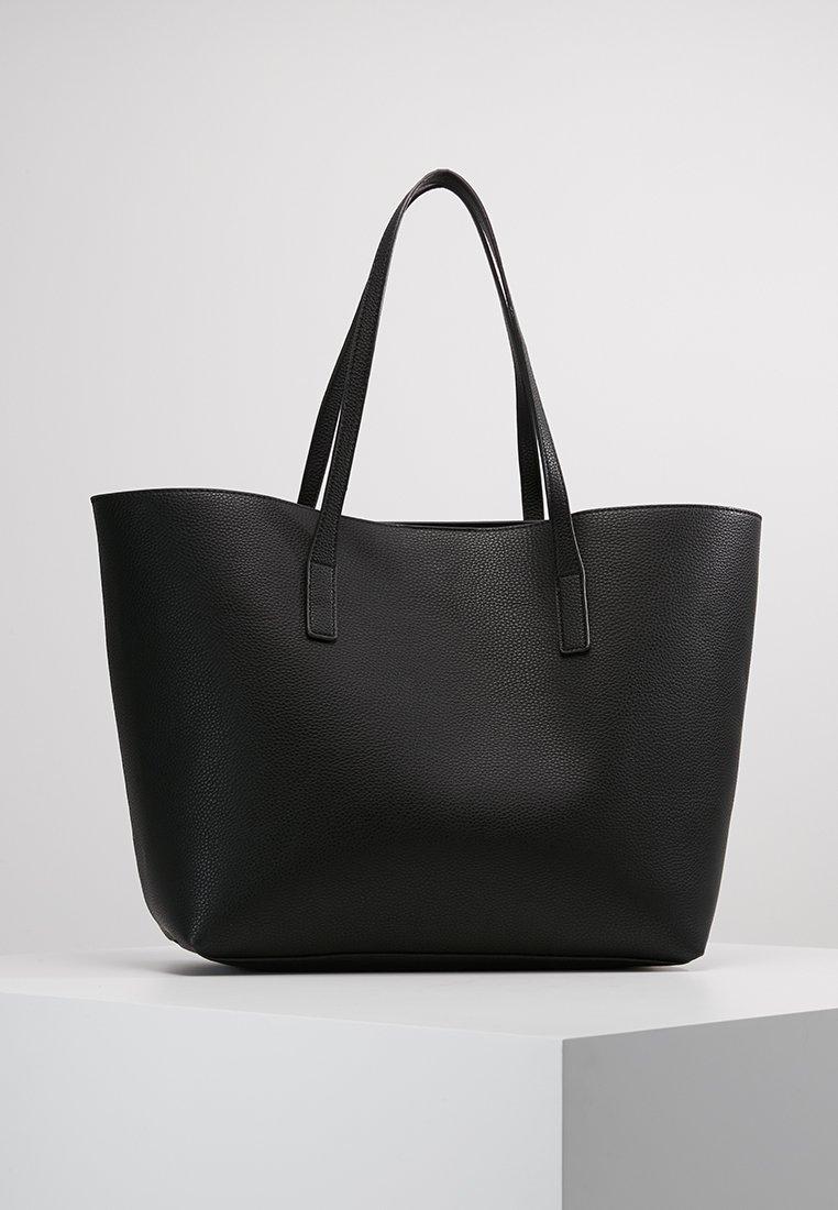 Even&Odd - Tote bag - black/gunmetal