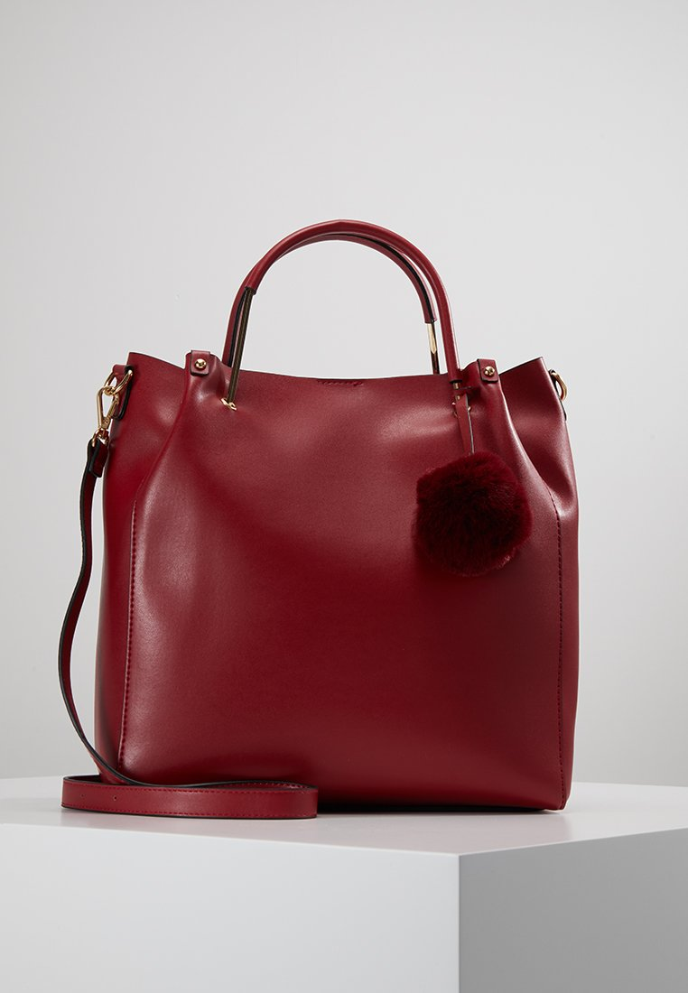 Even&Odd - Handbag - dark red
