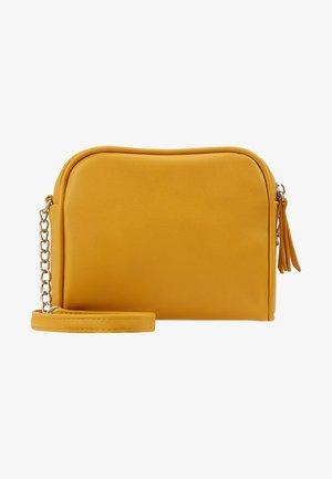 Taška spříčným popruhem - yellow