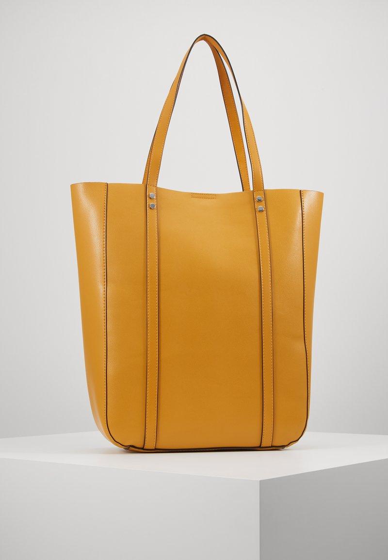 Even&Odd - Shoppingveske - dark yellow