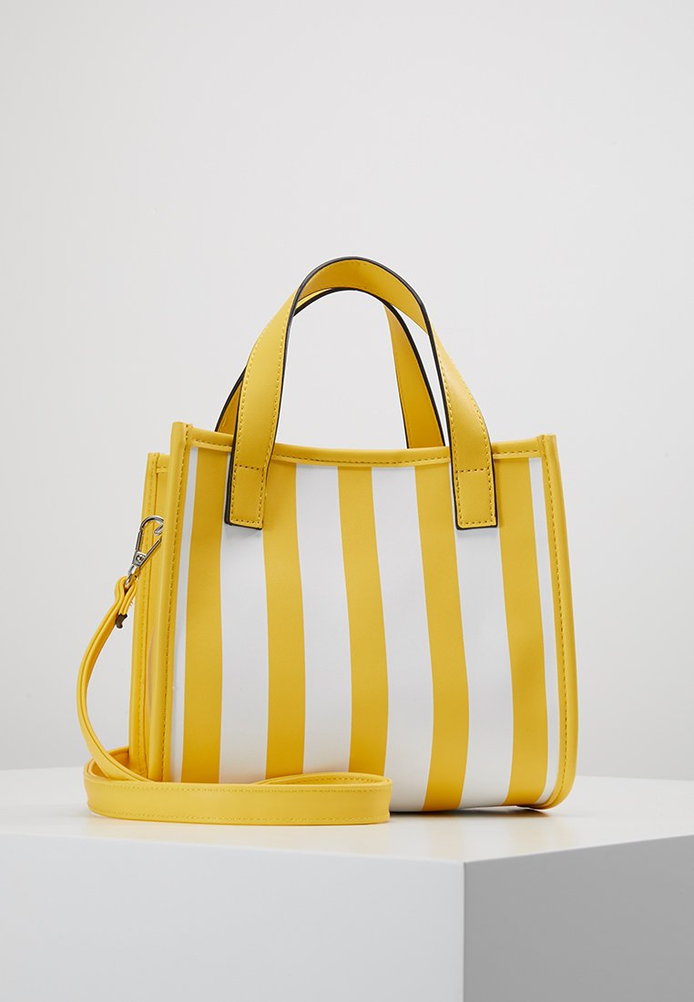 Even&Odd - Handtasche - yellow/white