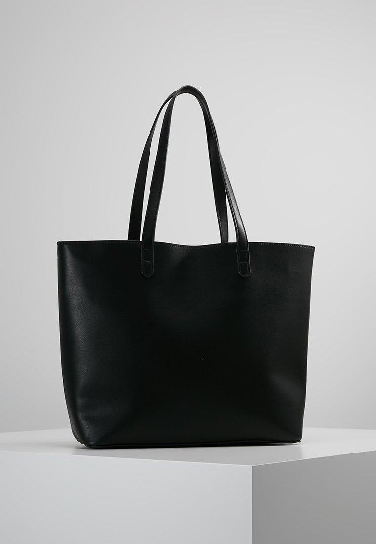 Even&Odd - Handtas - black/white