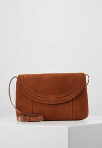 Even&Odd - LEATHER - Torba na ramię - cognac - 0