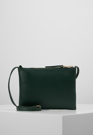Taška spříčným popruhem - dark green