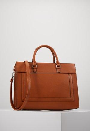 Taška na laptop - cognac