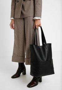 Even&Odd - Tote bag - black - 1