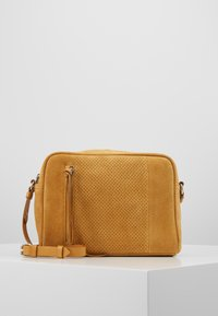 Even&Odd - LEATHER - Borsa a tracolla - mustard - 0