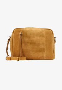 Even&Odd - LEATHER - Borsa a tracolla - mustard - 4