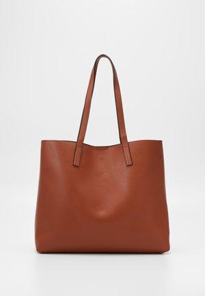 Shopping bags - cognac