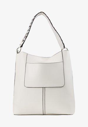 SHOPPING BAG / POUCH SET - Shopping bag - white