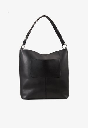 SHOPPING BAG / POUCH SET - Shoppingveske - black