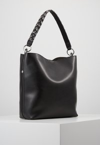 Even&Odd - SHOPPING BAG / POUCH SET - Velká kabelka - black - 0