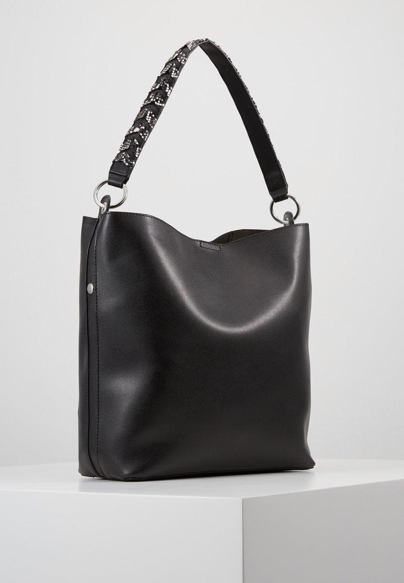 Even&Odd - SHOPPING BAG / POUCH SET - Shopping bag - black