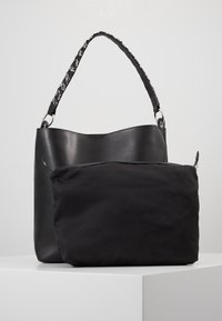 Even&Odd - SHOPPING BAG / POUCH SET - Velká kabelka - black - 3