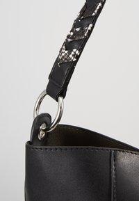 Even&Odd - SHOPPING BAG / POUCH SET - Shopping bag - black - 5