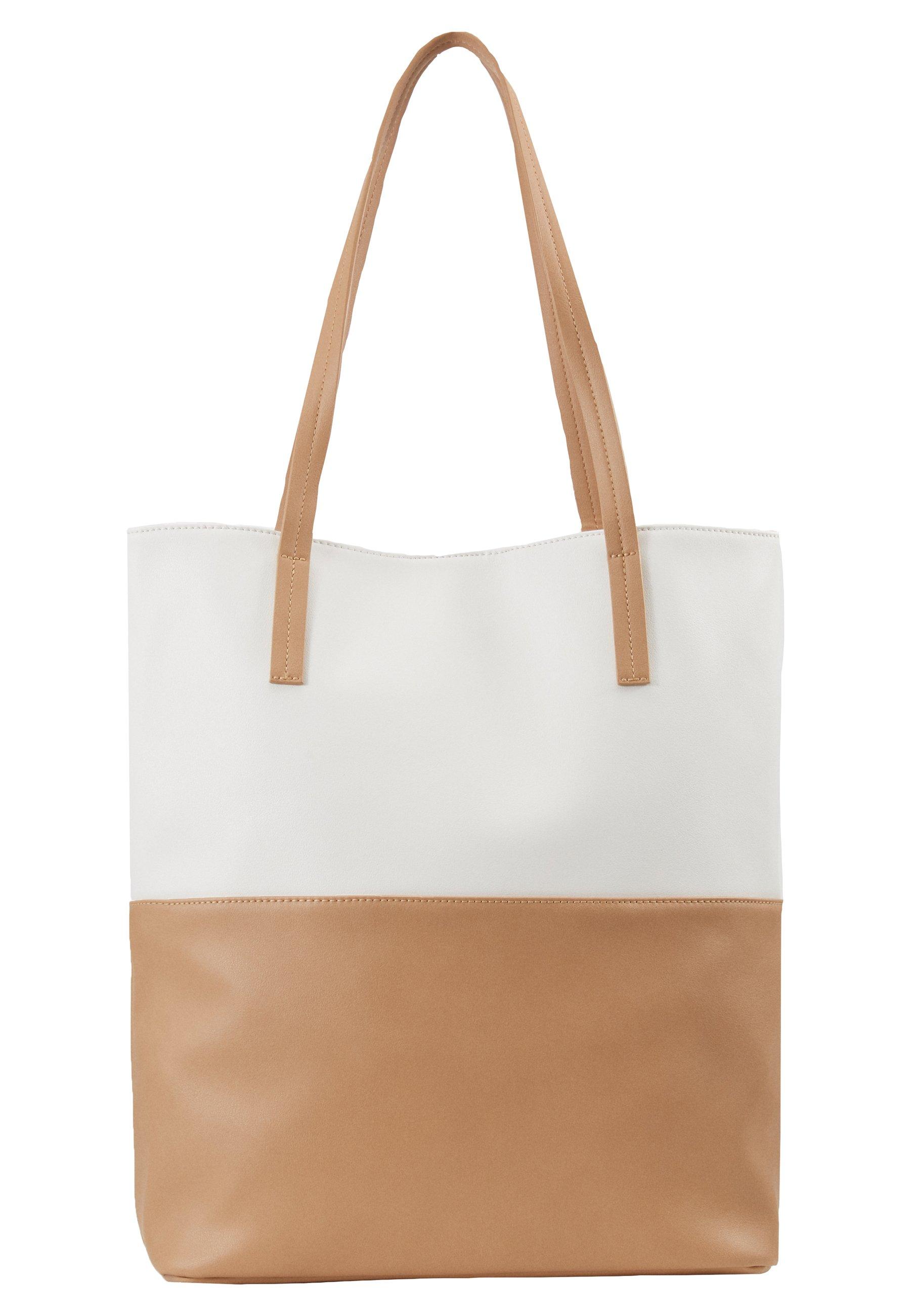 Even&Odd Shoppingveske - white/beige