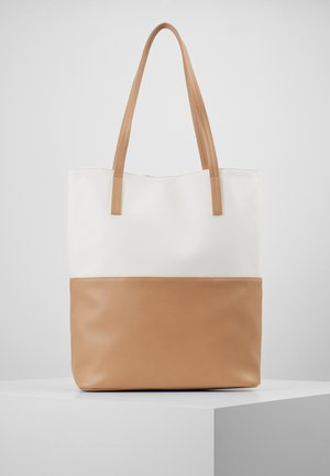 Tote bag - white/beige