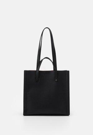 Shopping bag - black/red