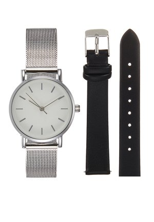 Zegarek - silver-coloured/black