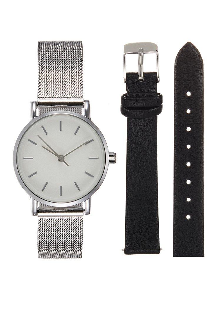 Even&Odd - Uhr - silver-coloured/black