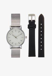 Even&Odd - Hodinky - silver-coloured/black - 1