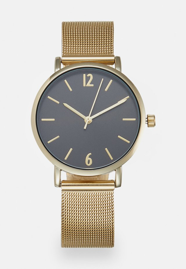 Horloge - gold-coloured/black