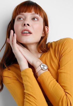 Horloge - rose