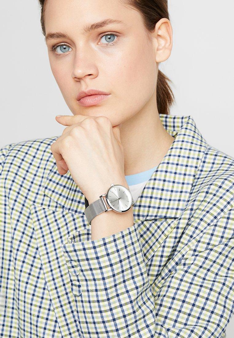 Even&Odd - SET - Uhr - silver-coloured