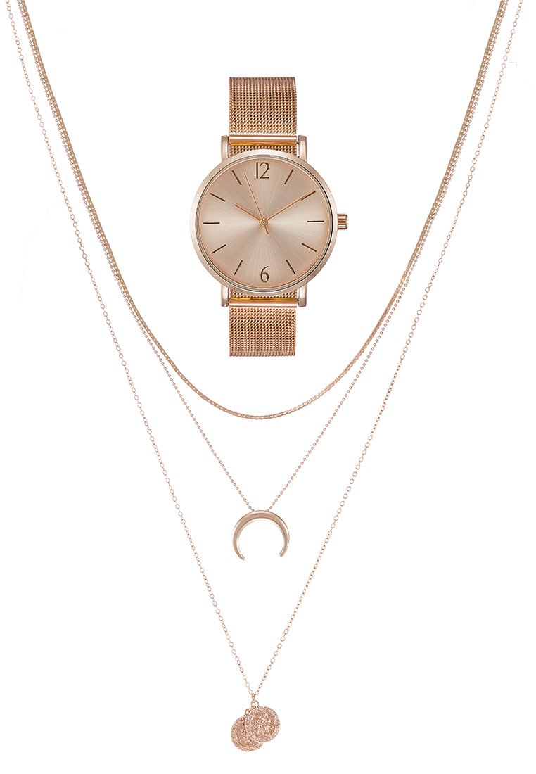 Even&Odd - SET - Uhr - rose gold-coloured