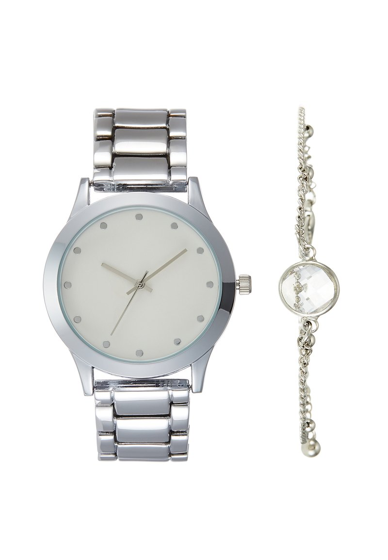 Even&Odd - SET - Montre - silver-coloured