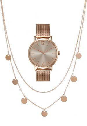 SET - Rannekello - rose gold-coloured