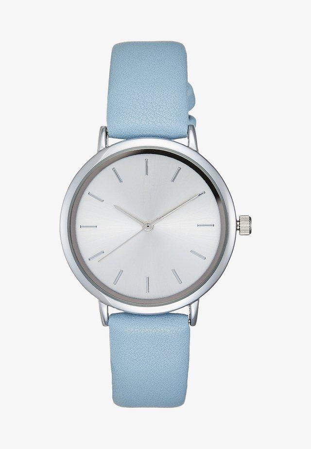Klokke - blue