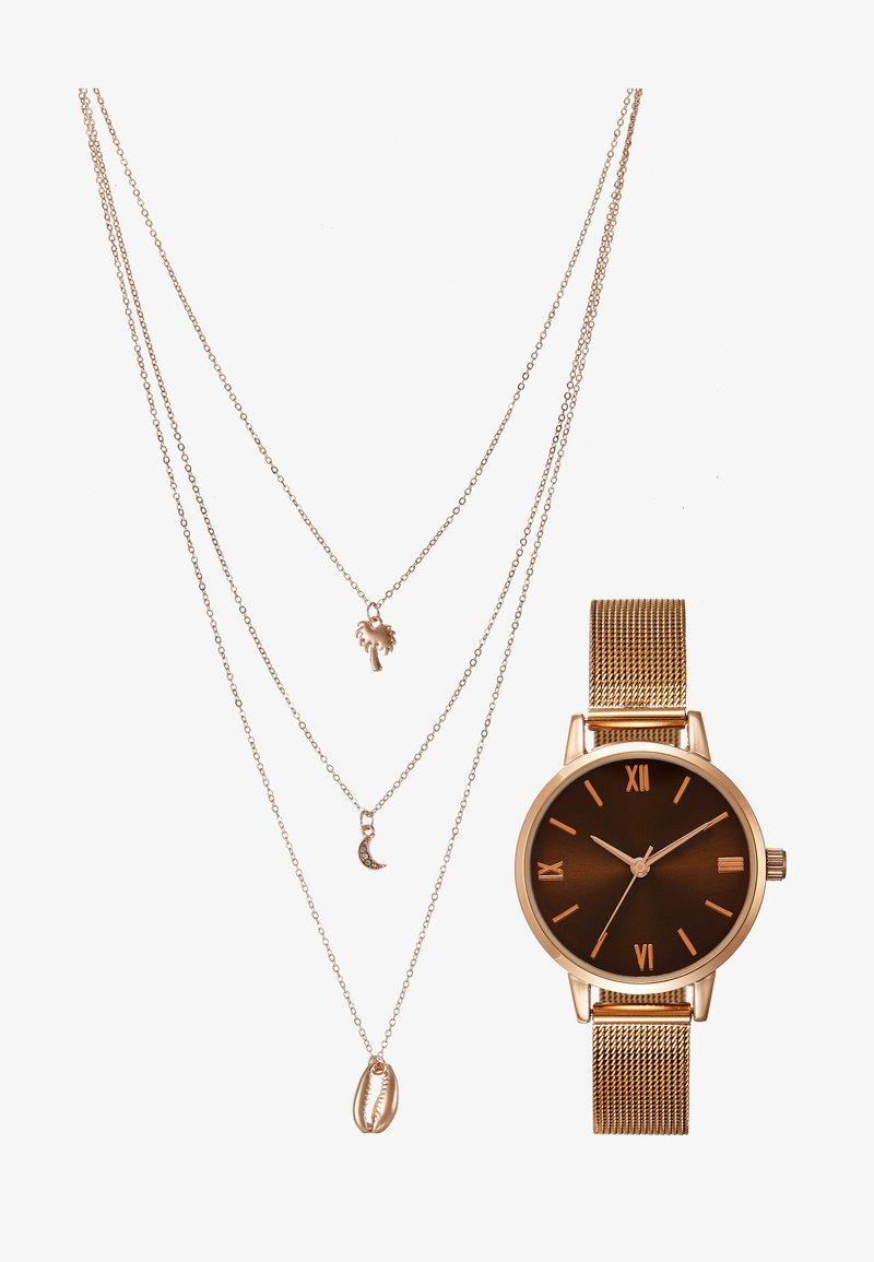 Even&Odd - SET - Montre - rose gold-coloured