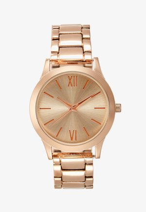 Klokke - rose gold-coloured