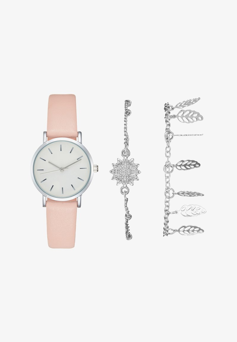 Even&Odd - SET - Montre - rose/silver-coloured