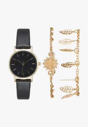 SET - Montre - black/gold