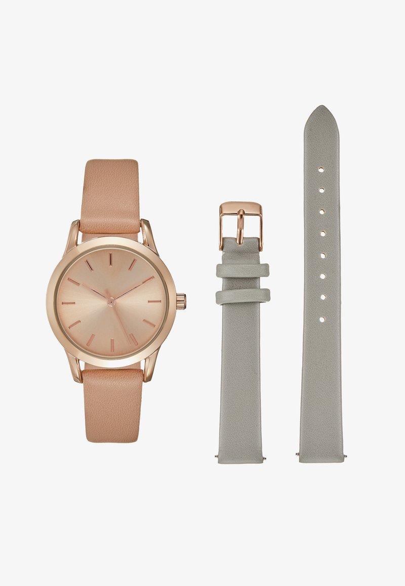 Even&Odd - Horloge - grey/nude